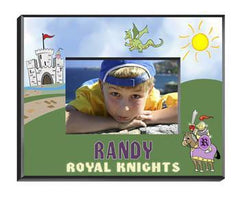 Personalized Little Boy Children's Picture Frames - All - Knight - Frames - AGiftPersonalized