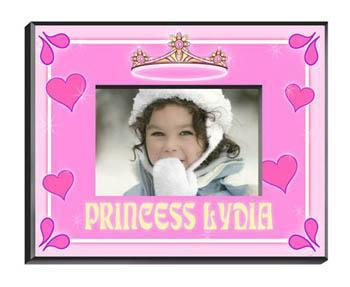 Personalized Little Girl Collection of Children's Picture Frames - All - Princess - JDS