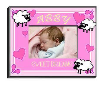 Personalized Little Girls Collection Picture Frames - All - SheepGirl - JDS