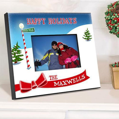 Personalized Family Holiday Picture Frames - All -  - JDS