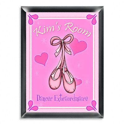 Personalized Kid's Room Sign - Ballet -  - JDS