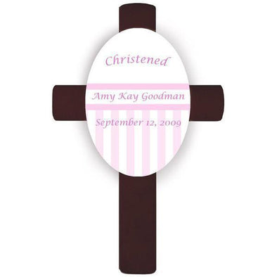 Personalized Children's Cross - Pink -  - JDS