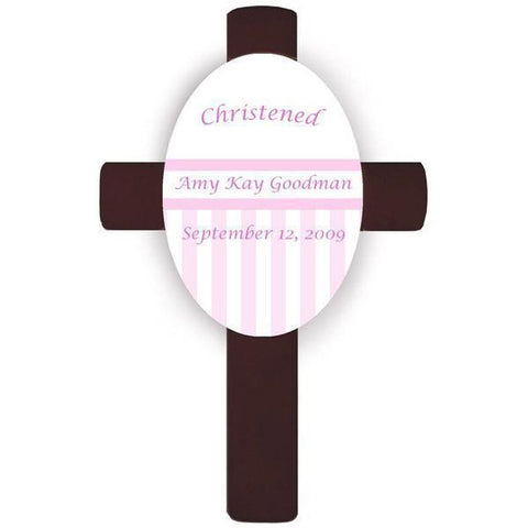 Personalized Children's Cross - Pink -  - Crosses - AGiftPersonalized