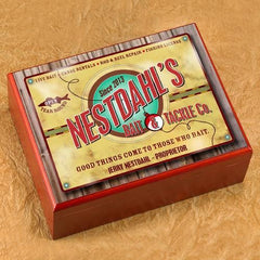 Personalized Cigar Humidor - Bait&Tackle - Cigars and Humidors - AGiftPersonalized