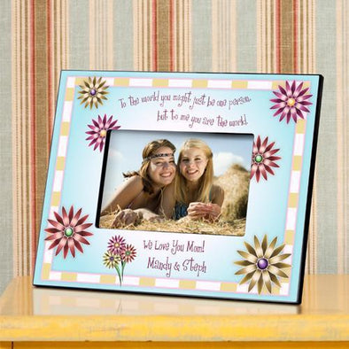 Personalized Mothers Poem Frame - You Are The World To Me -  - JDS
