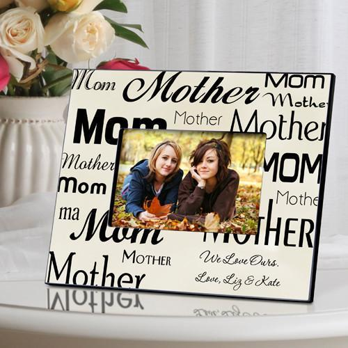 personalized mom mother frame parchment gifts for mom agiftpersonalized - Mother Picture Frame