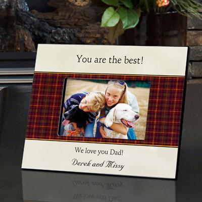 Personalized Father's Day Frame -  - Gifts for Dad - AGiftPersonalized