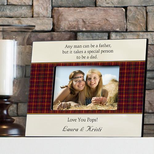 Personalized Father's Poem Frame