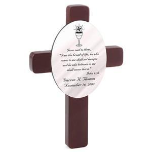 Personalized First Communion Cross -  - JDS