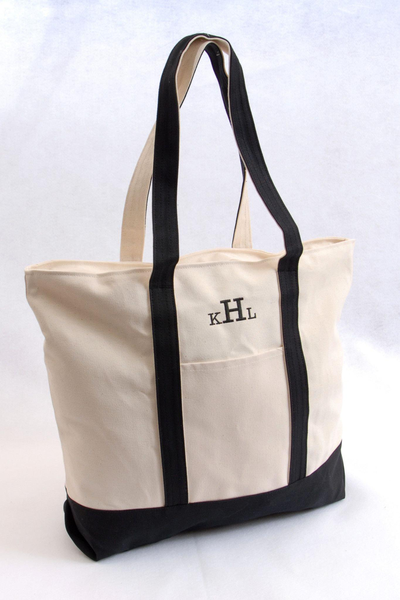 Personalized Tote Bags - Beach Bag