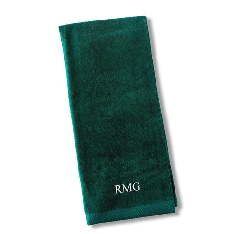 Personalized Golf Towel - Green - Sporting & Gaming Gifts - AGiftPersonalized