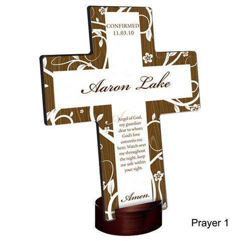 Personalized Tree of Life Cross with Stand -  - Crosses - AGiftPersonalized
