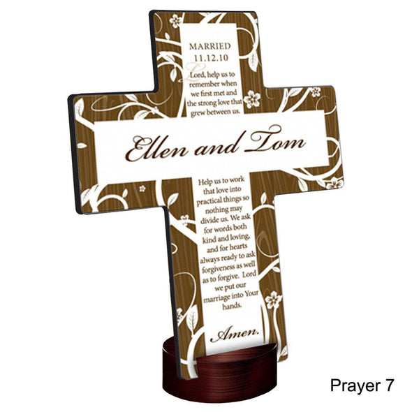Personalized Tree of Life Cross with Stand -  - JDS