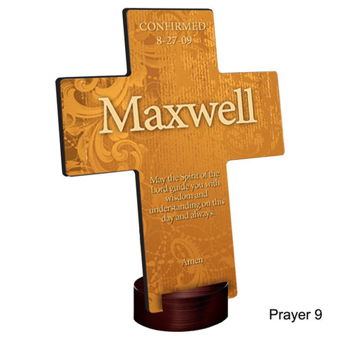 Personalized Gardens of Grace Cross with Stand - Prayer9 - Crosses - AGiftPersonalized