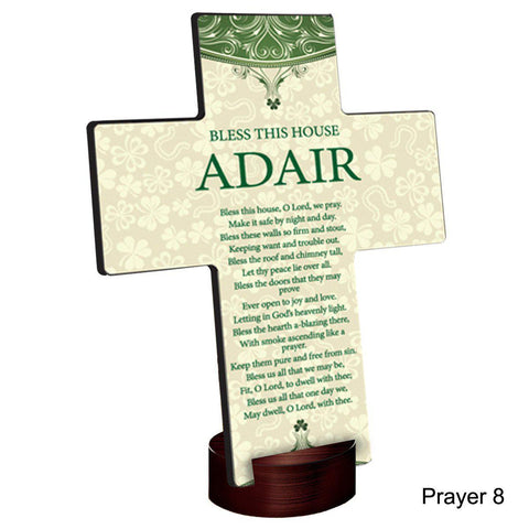 Personalized Classic Irish Cross with Stand -  - Irish Gifts - AGiftPersonalized