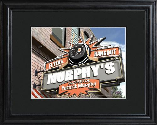 Personalized-NHL-Pub-Sign-wMatted-Frame-Flyers