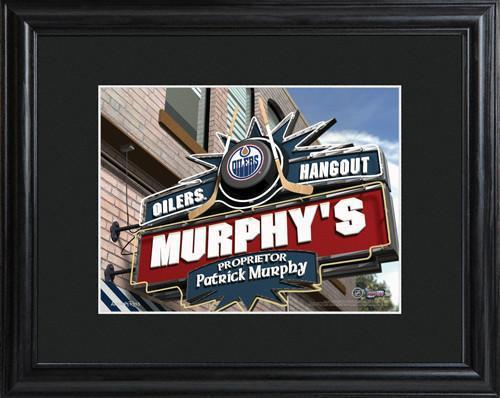 Personalized-NHL-Pub-Sign-wMatted-Frame-Oilers