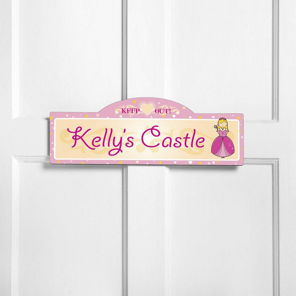 Personalized Signs - Girl's Room - Multiple Designs - Royal - JDS