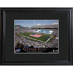 Personalized NFL Stadium Sign w/Matted Frame - Bills -  - Professional Sports Gifts - AGiftPersonalized