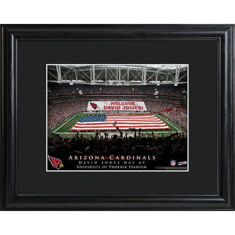 Personalized NFL Stadium Sign w/Matted Frame - Cardinals -  - Professional Sports Gifts - AGiftPersonalized