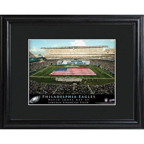 detailed look de758 be091 Personalized Philadelphia Eagles NFL Stadium Sign w/Matted Frame