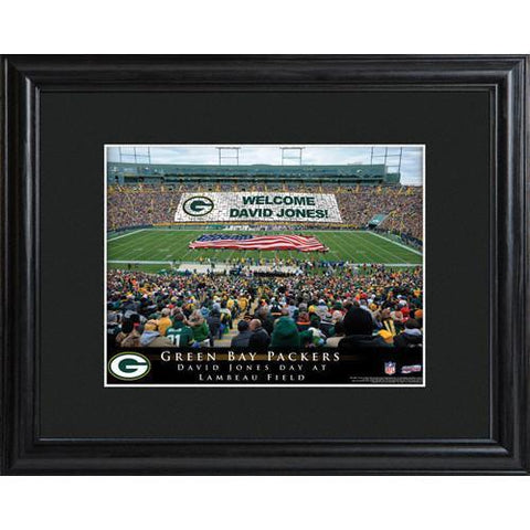 Personalized NFL Stadium Sign w/Matted Frame - Packers -  - Professional Sports Gifts - AGiftPersonalized