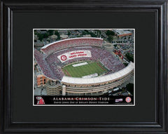 Personalized College Stadium Sign w/Matted Frame