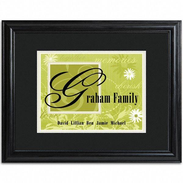 Personalized-Green-Family-Name-Frame