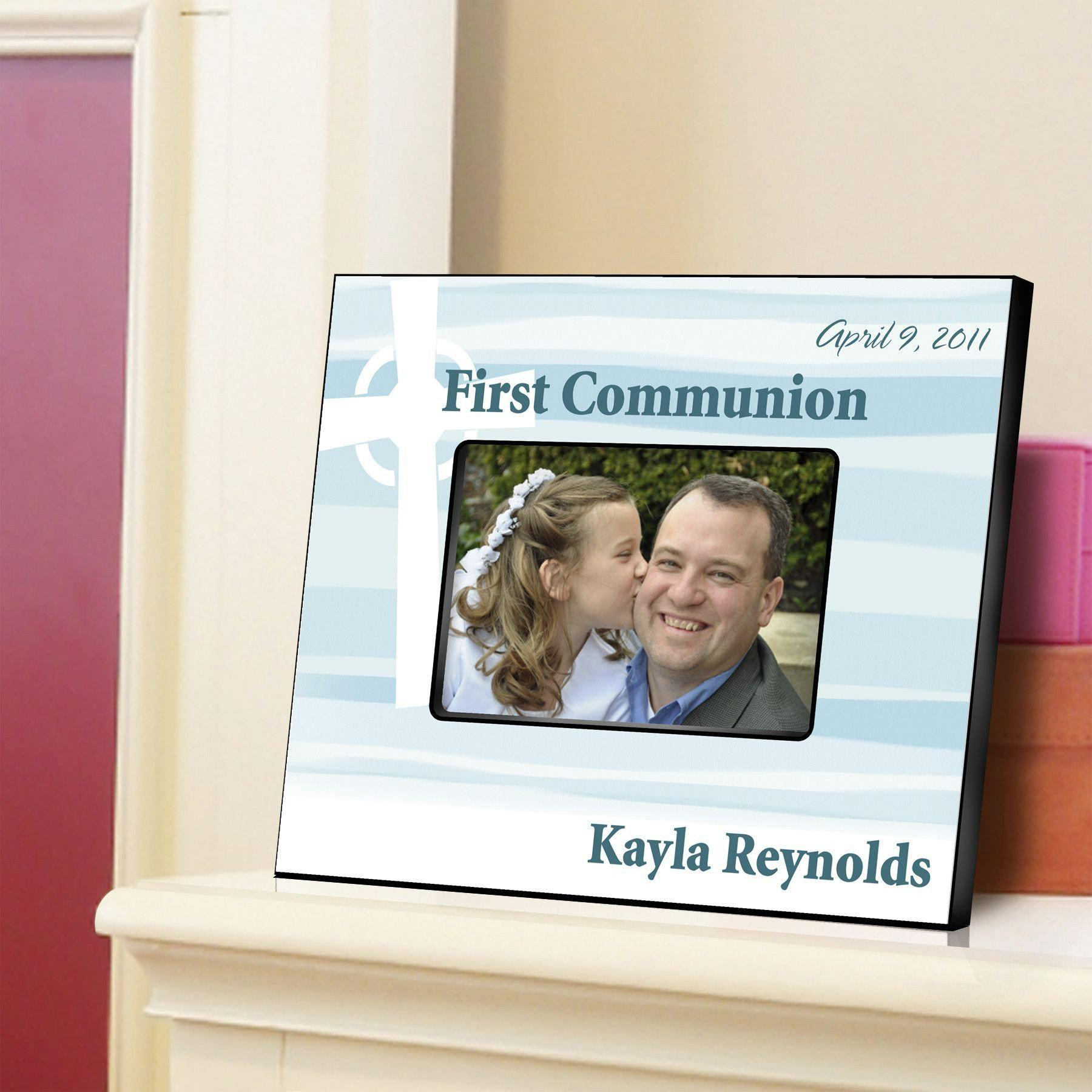 Personalized Celtic Blessings First Communion Picture Frame