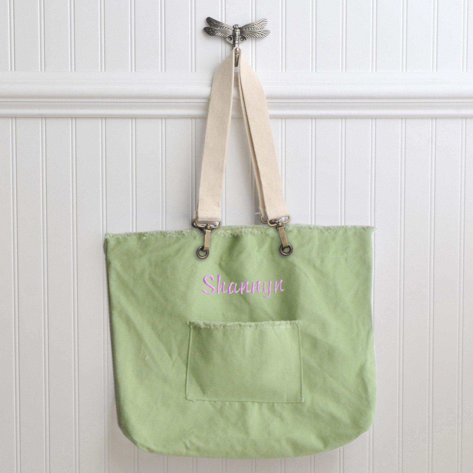 Personalized Tote Bags - Canvas - 4 Colors - Gifts for Her