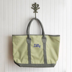 Personalized Tote Bag - Heavy Canvas - Countryside - Green - Tote Bags - AGiftPersonalized