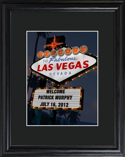 Personalized-Marquee-Framed-Sign-Vegas-Night