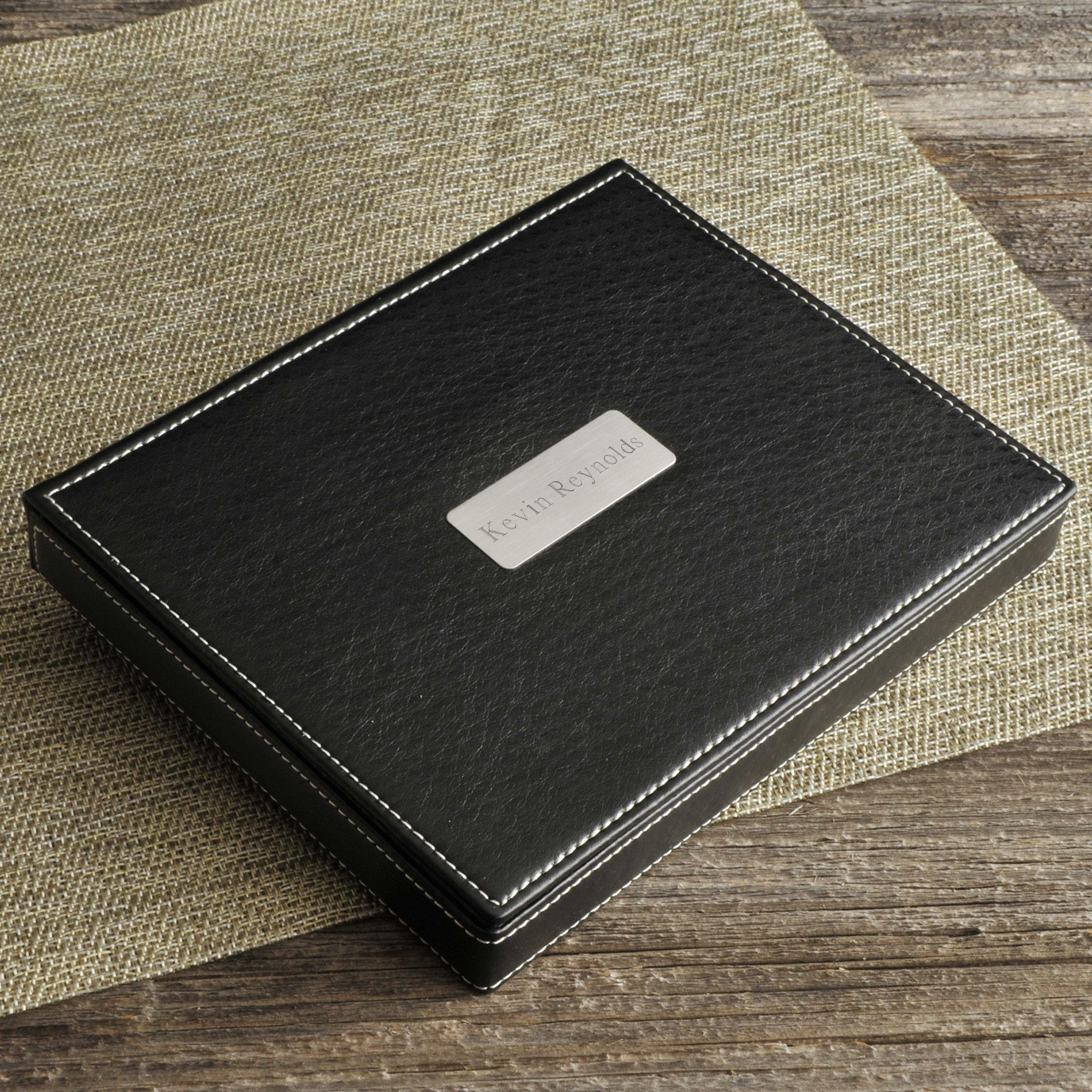 Personalized-Deluxe-Leather-Valet