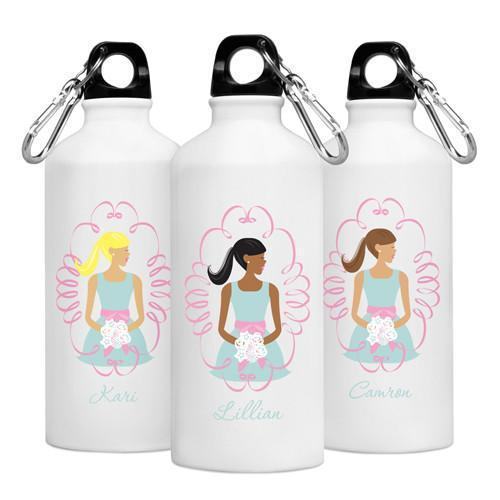 Personalized Goin' to the Chapel Water Bottle -  Bridesmaid