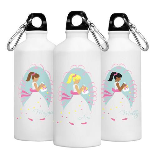 Personalized Goin to the Chapel Water Bottle -  Flower Girl