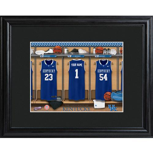 Personalized College Basketball Locker Room Sign - Personalized University Wall Art - Kentucky - JDS
