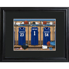 Personalized College Basketball Locker Room Sign - Personalized University Wall Art - Kentucky