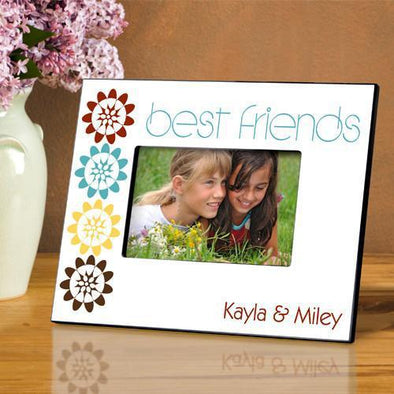 Personalized BFF Picture Frame - Bouquet - JDS