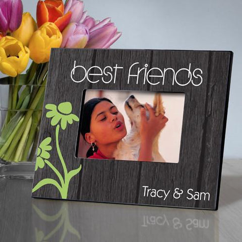 Personalized Picture Frame - BFF - Daisy - Frames - AGiftPersonalized