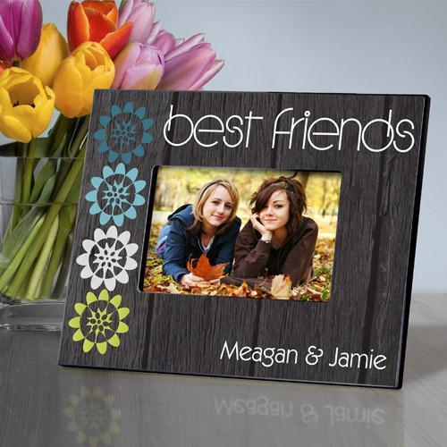 Personalized BFF Picture Frame - Nature Charm - JDS