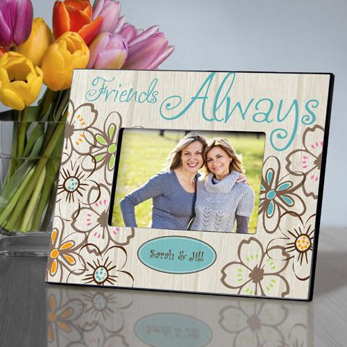 Personalized Everlasting Friends Picture Frame - Beige - JDS