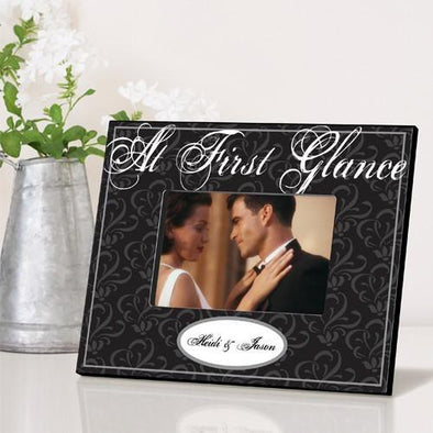 Personalized At A Glance Couple's Picture Frame -  - JDS