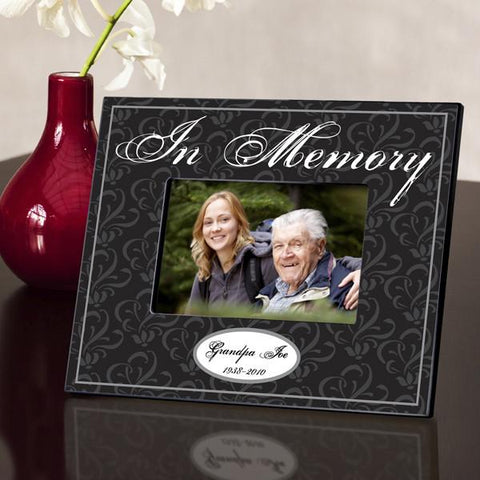 Personalized Memorial Frame - In Memory -  - Frames - AGiftPersonalized