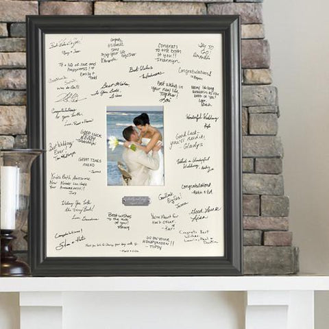 Personalized Wedding Signature Frame -