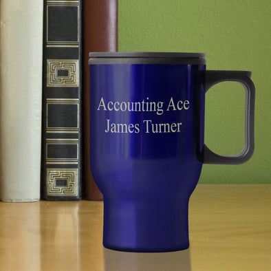 Personalized Travel Mug -
