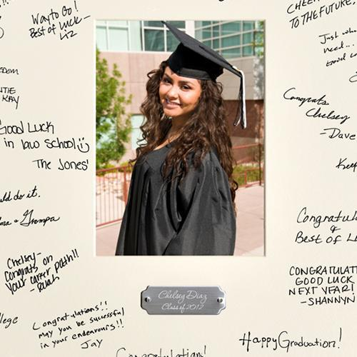 Personalized Graduation Gifts - Graduation Signature Frame -  - JDS
