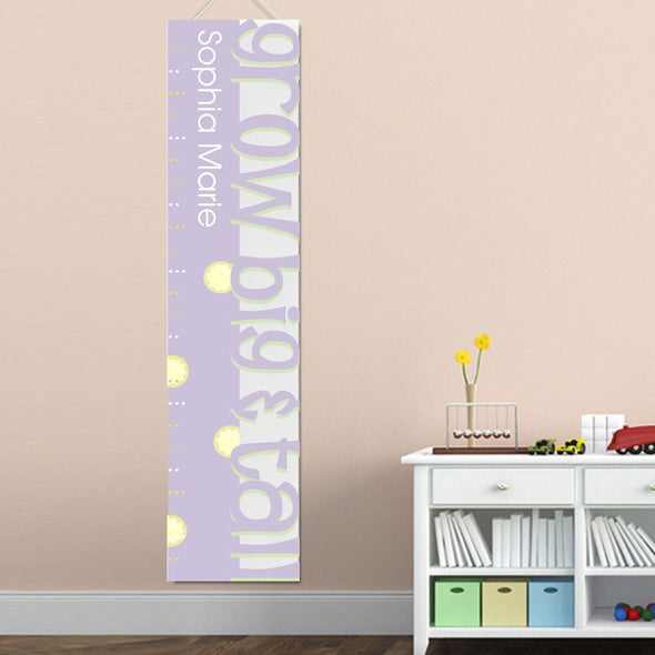 Personalized Growth Chart - Height Chart - Girls - Gifts for Kids - Big&TallLav - JDS