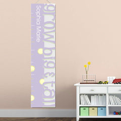 Personalized Growth Chart - Height Chart - Girls - Gifts for Kids - Big&TallLav - Gifts for Kids - AGiftPersonalized