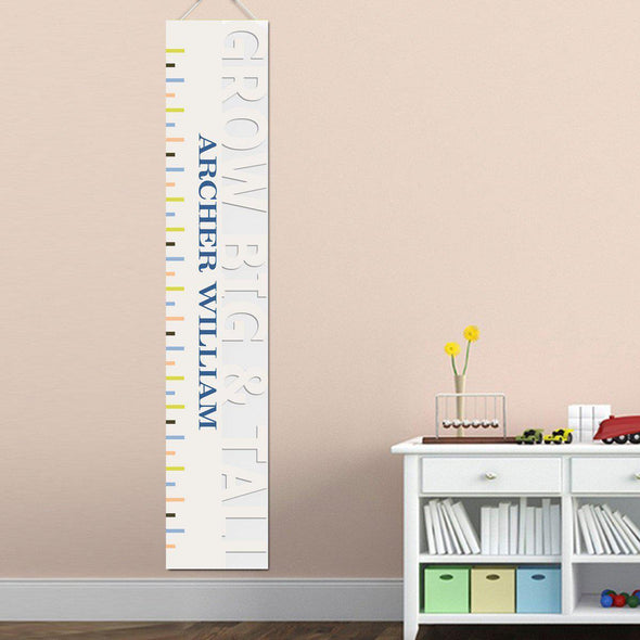 Personalized Growth Chart - Height Chart - Boys - Gifts for Kids - BigTallTan - JDS