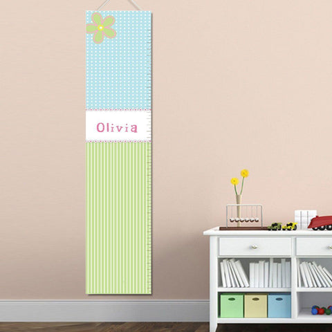 Personalized Growth Chart - Height Chart - Girls - Gifts for Kids - CandyShop - Gifts for Kids - AGiftPersonalized